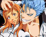 Grimmjow and ... Orihime?