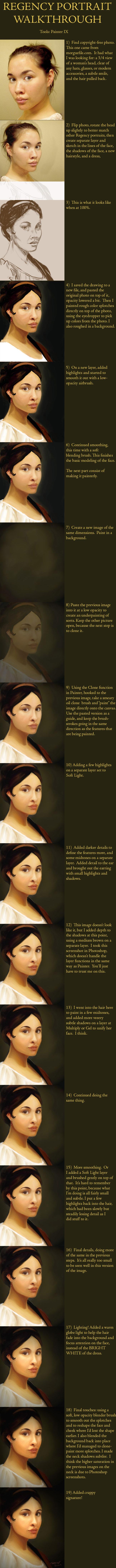 Regency Portrait Walkthrough by telophase