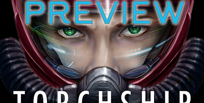 Torchship Captain Ebook Cover PREVIEW by telophase
