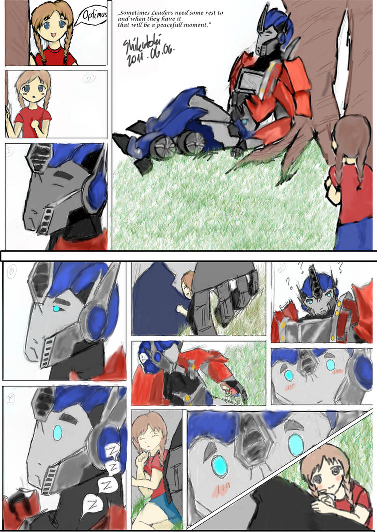 Pictures of Transformers Prime Arcee And Optimus Fanfiction