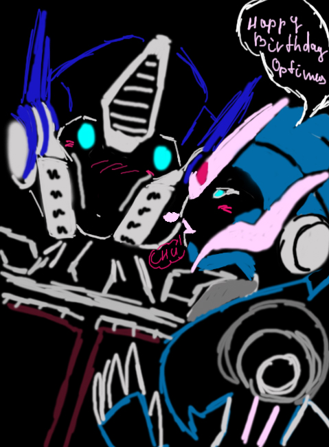 Arcee Happy Birthday Prime by Shikutoki on DeviantArt