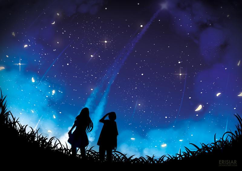 Картинки красивые неба ночного