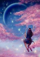 Moon Swing (improvement redraw) by Erisiar