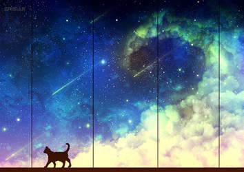 Space Cat by Erisiar