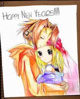 ShamanK - HAPPY NEW YEARS by shuninite