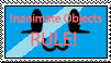 Inanimate Objects RULE stamp