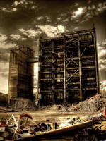Industrial Ruin by Karakuji