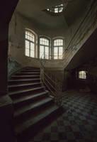 silent halls by Karakuji