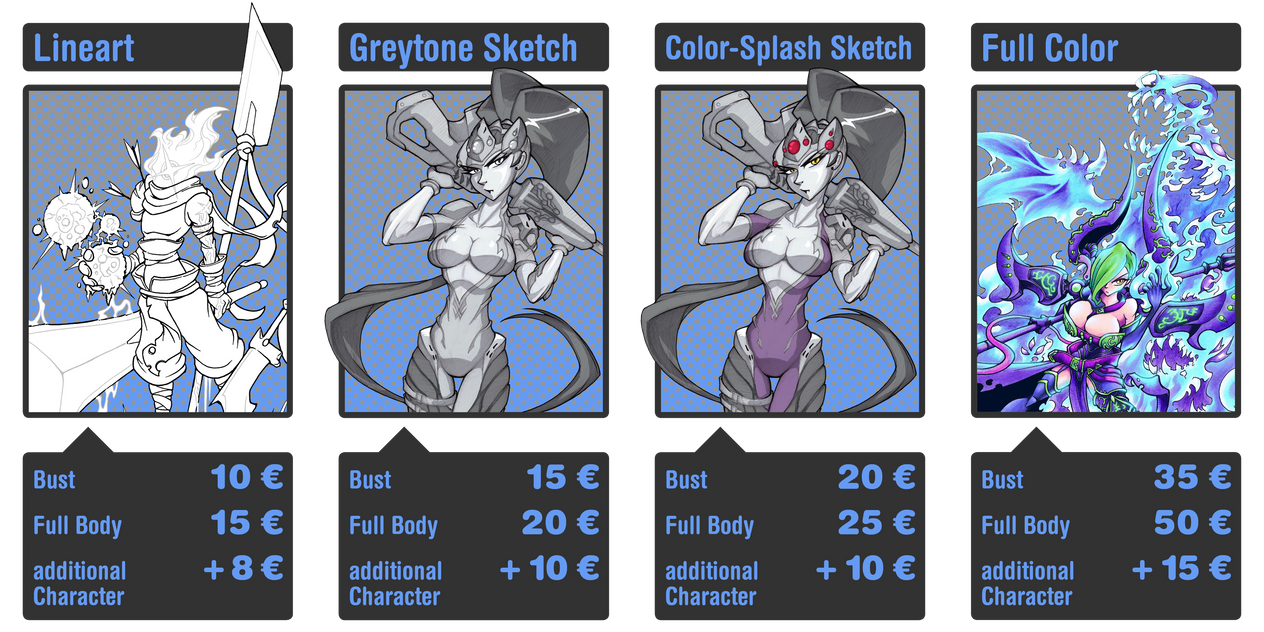Commission are Open