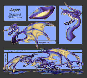 Dragon of Nightmares - Sheet by HallowGazer