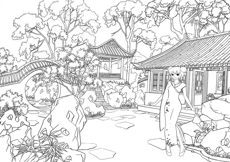 japanese coloring pages cool download print it with japanese - Japanese Coloring Pages
