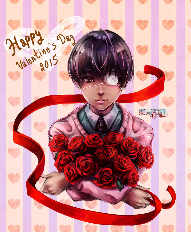 TokyoGhoul_Happy valentine's day by Armelia