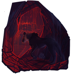Black-red by Liktar