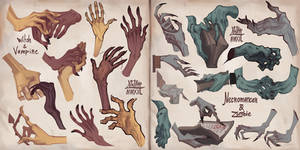 Spoopy Hands