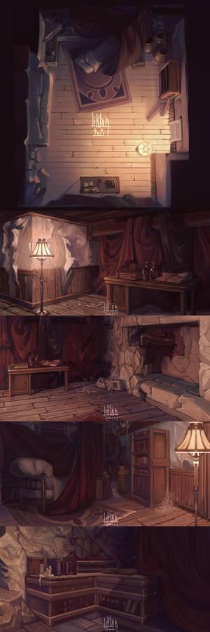 Kosey's room