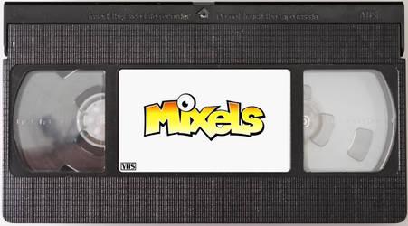 Mixels VHS Cassette Tape