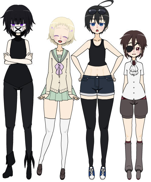 Kisekae 2 Ll Oc Batch 5 By Kimitsuki On Deviantart