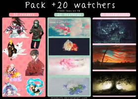 Pack +20 Watchers by MissKurtz