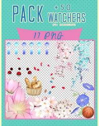 Pack +50 Watchers by MissKurtz