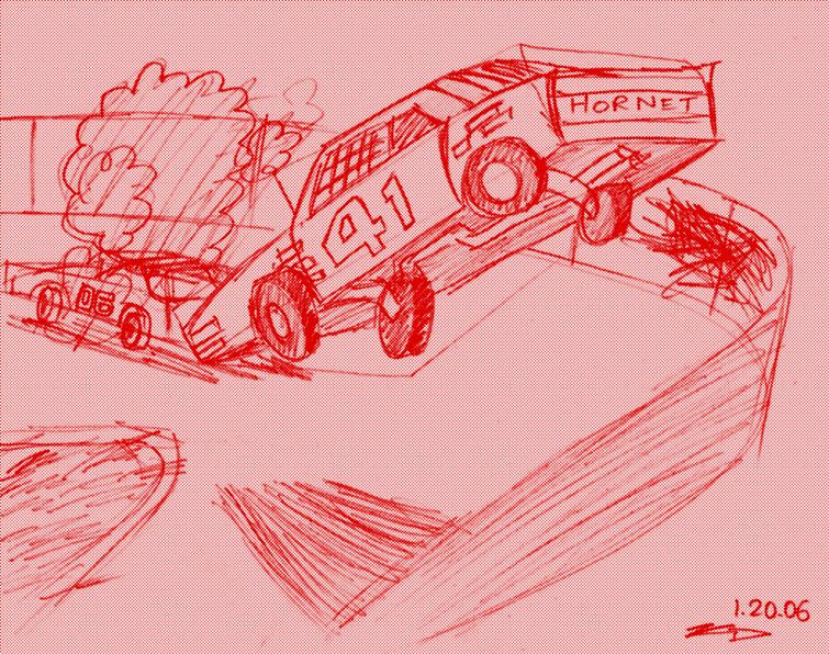 race cars can fly?