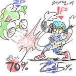 Klonoa in Super Smash Bros Wii