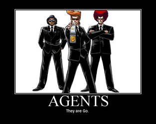 Agents by thegodbrother