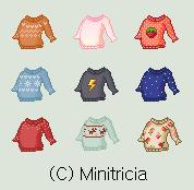 Fantage Custom: Sweaters by Minitricia