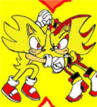 Super Sonic Vs Super Shadow