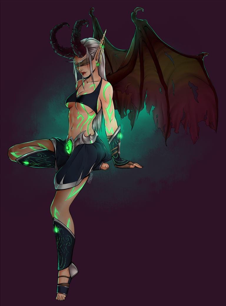 Demon Hunter by Rishnea