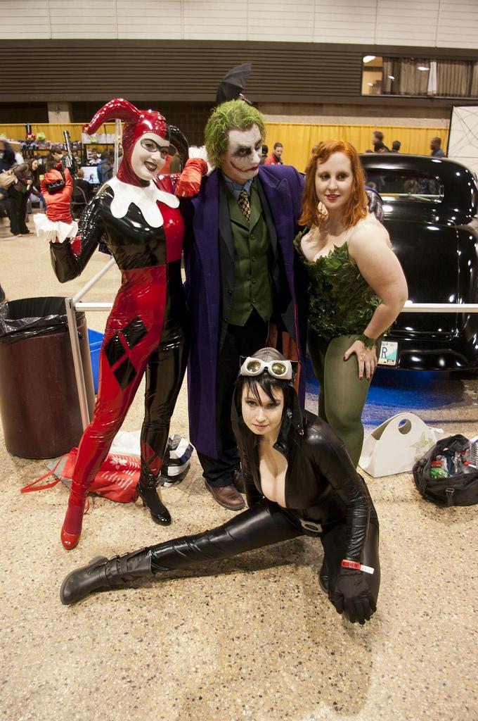 Gotham City Sirens!? by kidremington