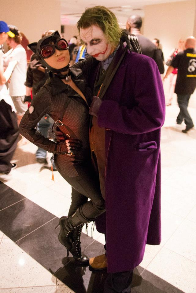 Joker and Kitty by kidremington