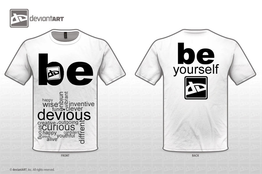T-Shirt - Be Yourself by CitizenXCreation