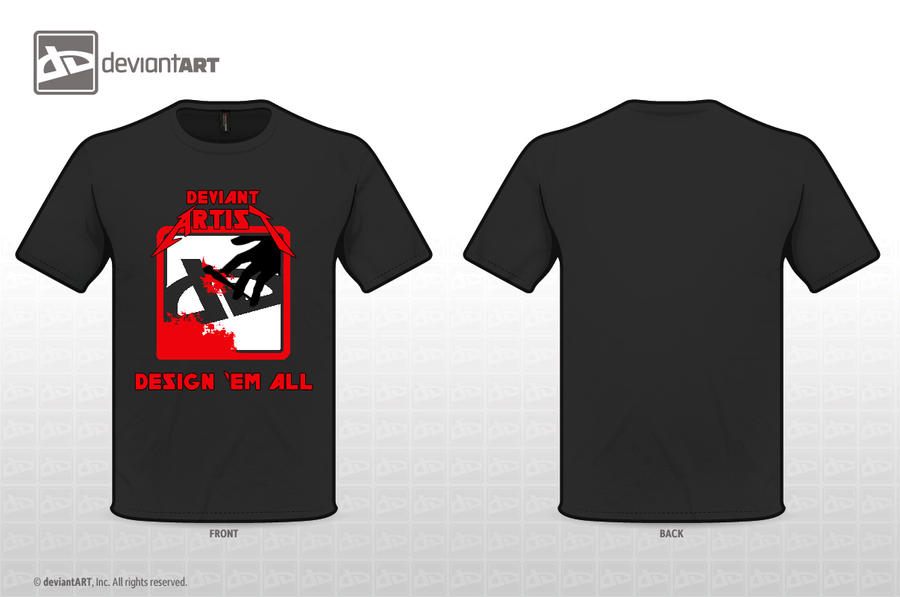 T-Shirt - Design 'Em All by CitizenXCreation
