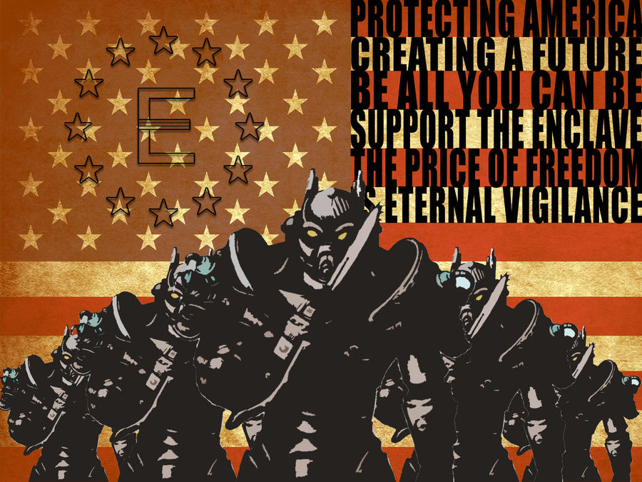 Enclave Propaganda By CitizenXCreation