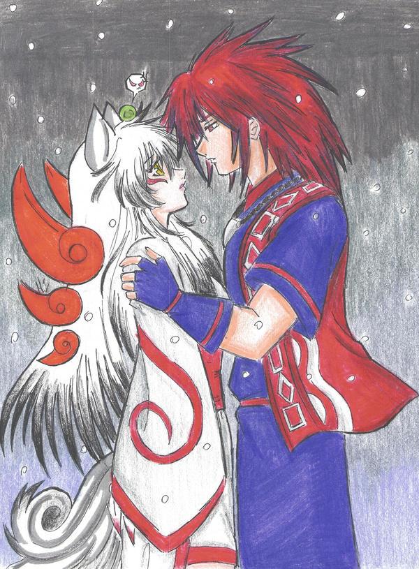 Okami and Oki by sdark391 on DeviantArt