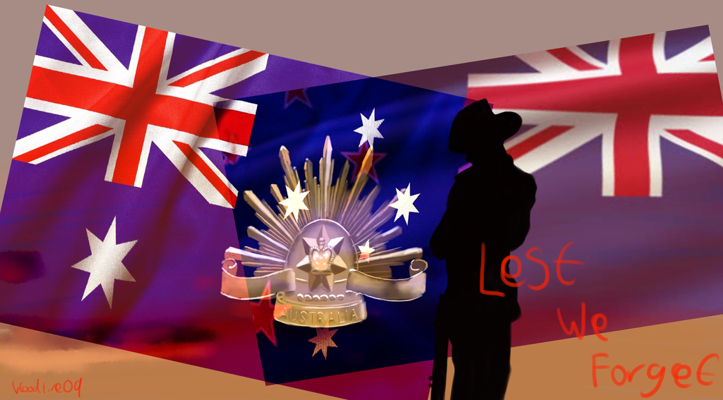 ANZAC Day 2013 by Bloodfire09