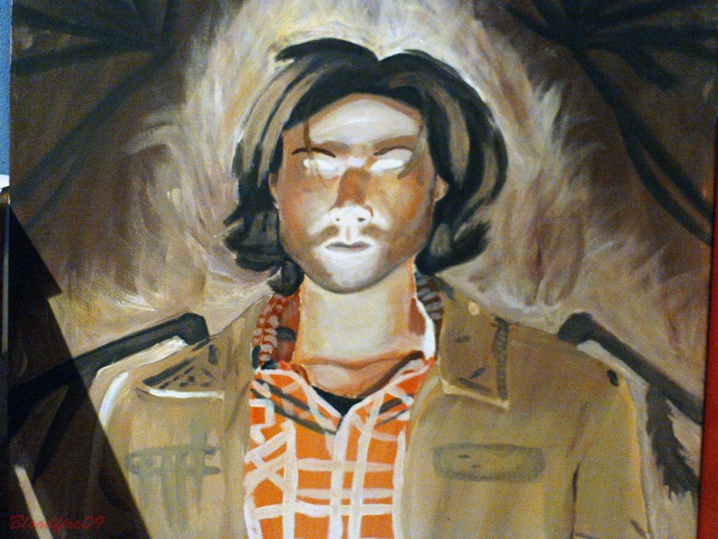 Ezekiel Painting (studio art final) by Bloodfire09