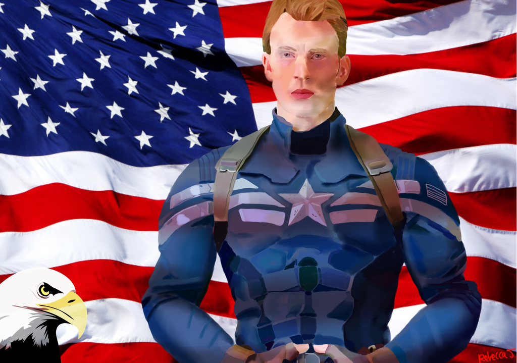 Captain America Present by Bloodfire09
