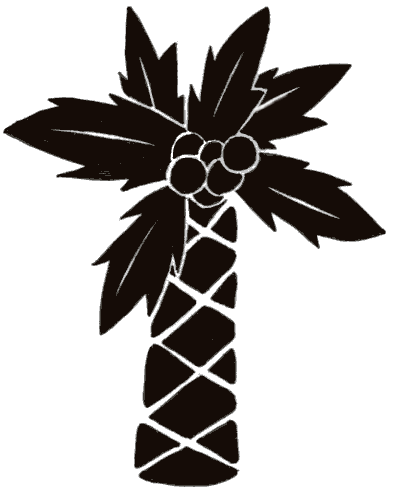 Tattoo Galleries: martyr and tree Tattoo Design Palm Tree Tattoo Art Work.