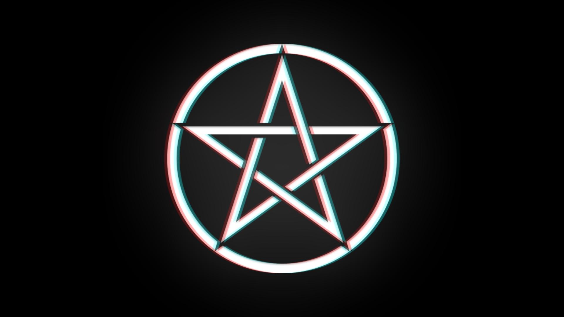 Pentagram Wallpaper 1920x1080 HD 3D Effect By Itssavy On