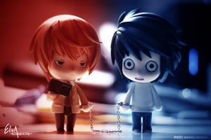 Death Note: Light vs L by M-Nirvana