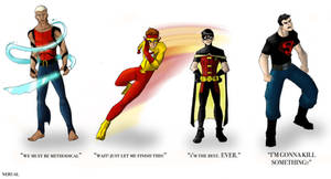 Young Justice -  Guys