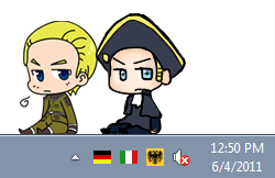 Shimeji - Germany and HRE by TohruIchi