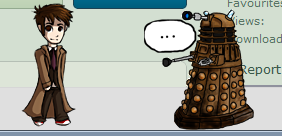 Shimeji - Doctor Who and Dalek by TohruIchi