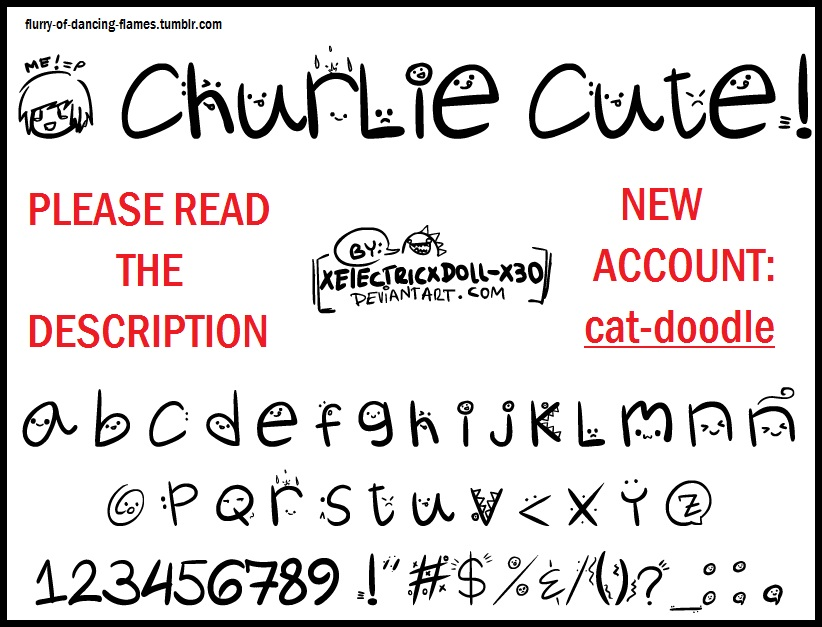 Cute Fonts Related Keywords Cute Fonts Long Tail