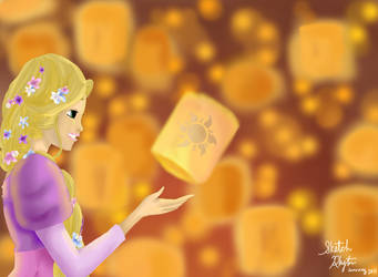 Tangled: I See the Light by SketchRhythm