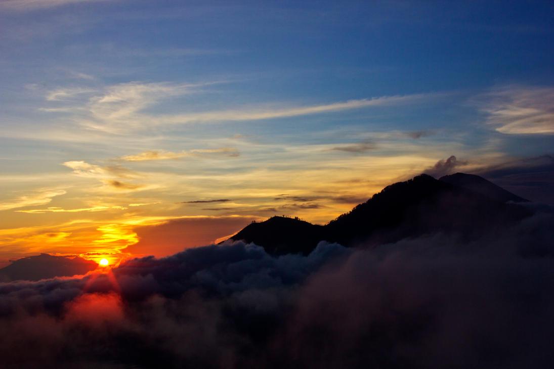 Mt Batur by HalfBloodPrince71