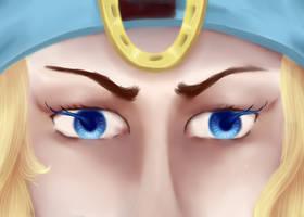Johnny's eyes