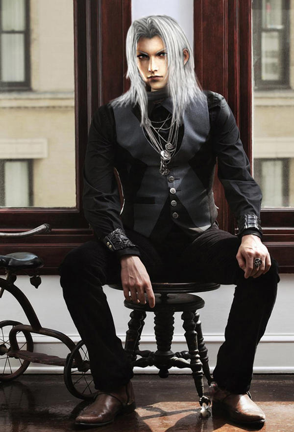 Sephiroth, Mr President by sunnyday81