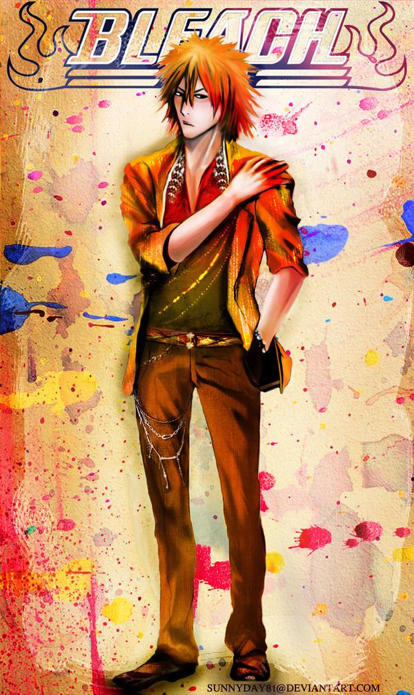 Golden Boy Ichigo by sunnyday81